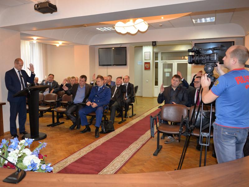 Заседание Совета депутатов г.о. Электросталь